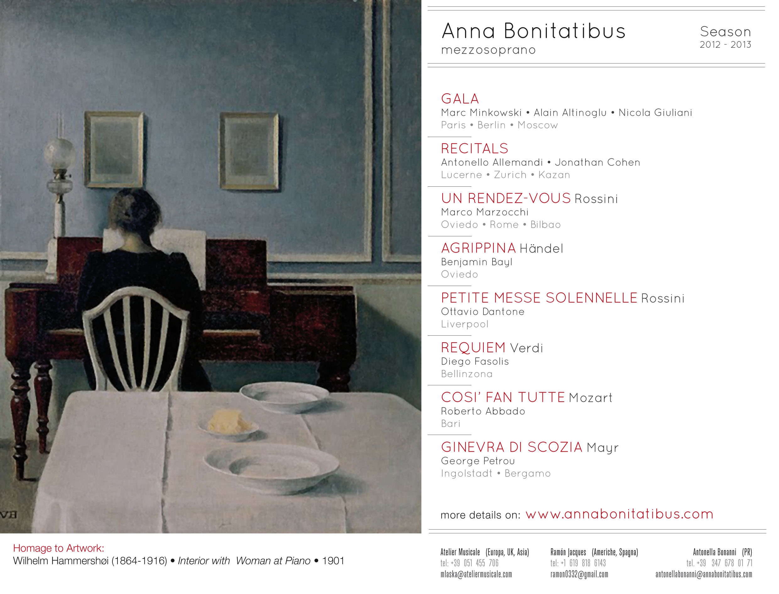 "Anna Bonitatibus Down-loadable ""hi-res"" Season 2012–2013 flyer"